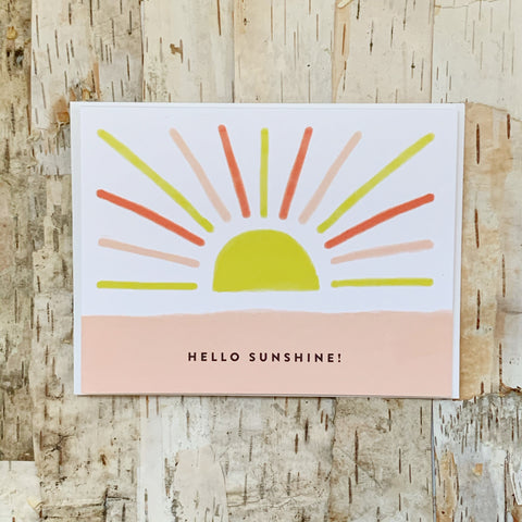 Hello Sunshine Card Joy Paper Co