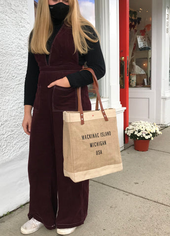 Mackinac Island Market Tote Bag