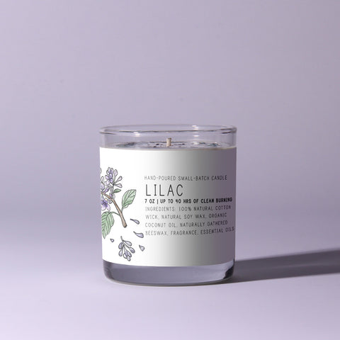 Blooming Lilac 7oz Candle