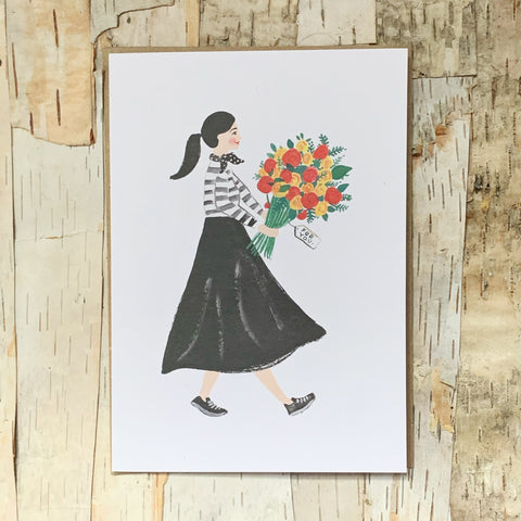 Eliza Flowers For You Card