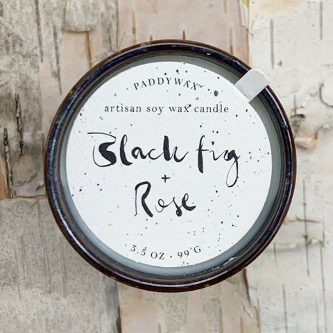 Black Fig and Rose Kin Candle 3.5 oz