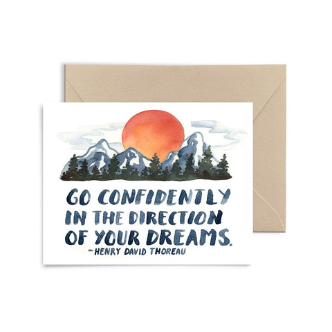 Go Confidently Card Little Truths