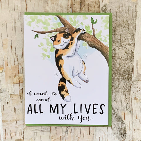 All My Lives With You Card