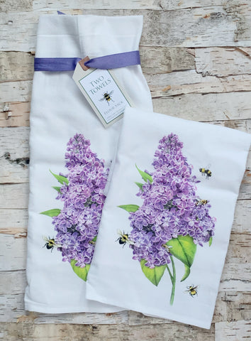 Lilac Towel Set