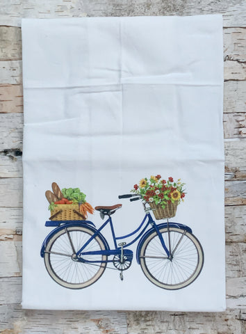 Farmers Market Bike Towel