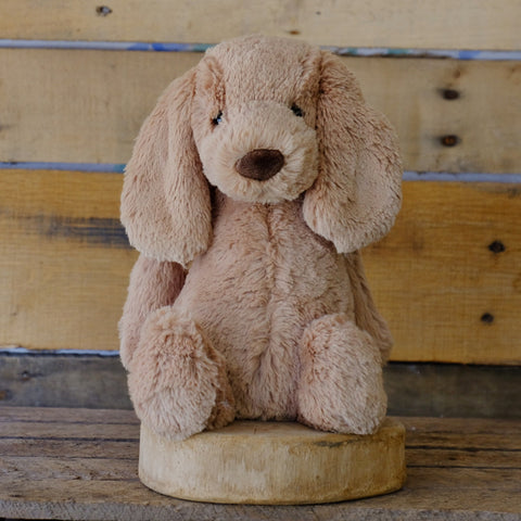 Bashful Toffee Puppy Soft Toy