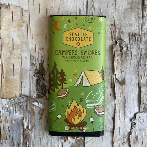 Camper S'mores Truffle Bar