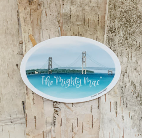 Mighty Mac Sticker