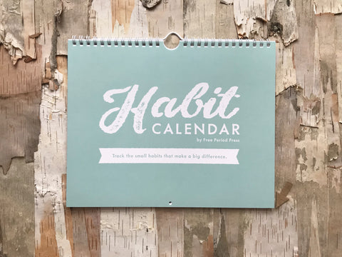 The Habit Calendar and Tracker