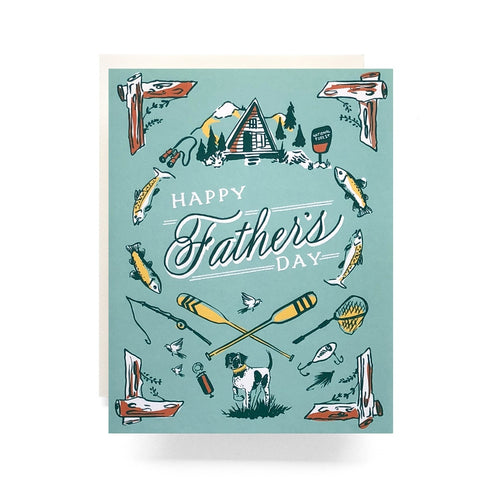 Outdoorsman Father's Day Card