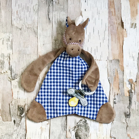 Carson The Colt Pacifier Blanket
