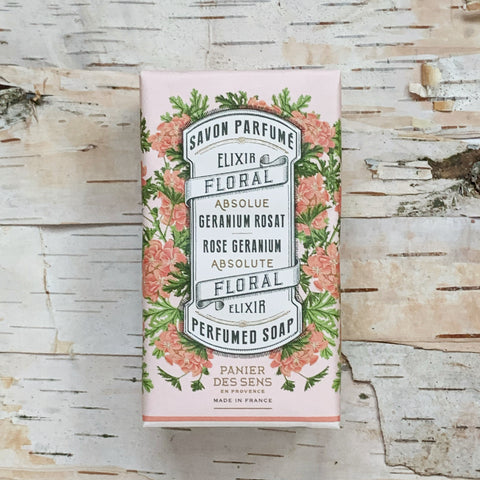 Rose Geranium Soap Bar 5.3oz