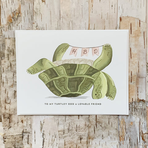 HBD Turtle Card