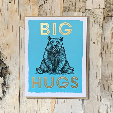 Big Hugs Bear Card