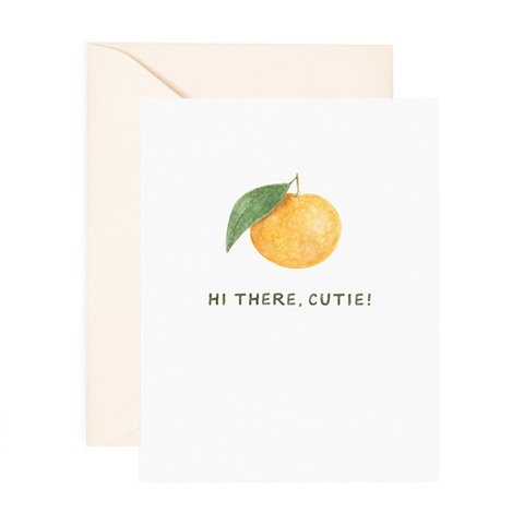 Hi There, Cutie! Card