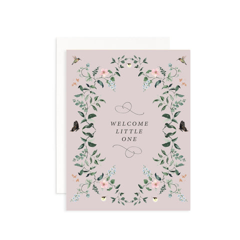 Welcome Little One Card Cami