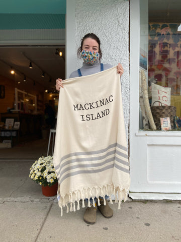 Mackinac Island Throw