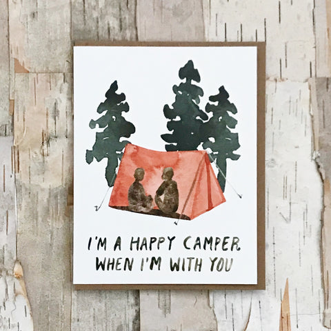 Happy Camper Card Little Truths