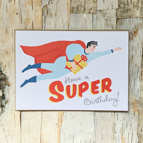 Clark Super Birthday Card