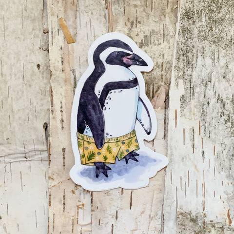 Penguin Wilderness Sticker