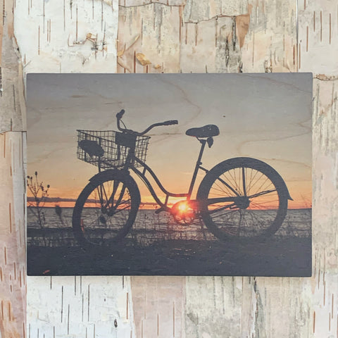 Sunset Bike A 5X7