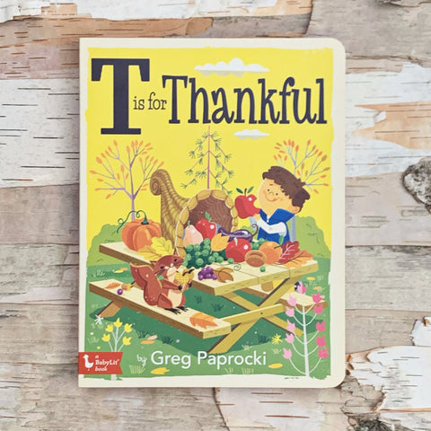 T Is For Thankful Book