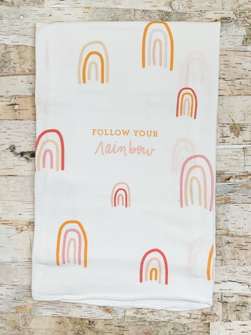 Follow Your Rainbow Towel