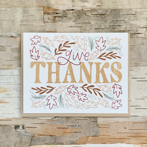 Give Thanks Card Jordyn