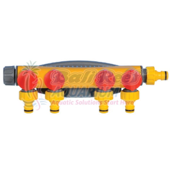 2150 Hozelock 4 Way Tap Connector Hozelock Gardening Bali Reef Aquarium Online Store