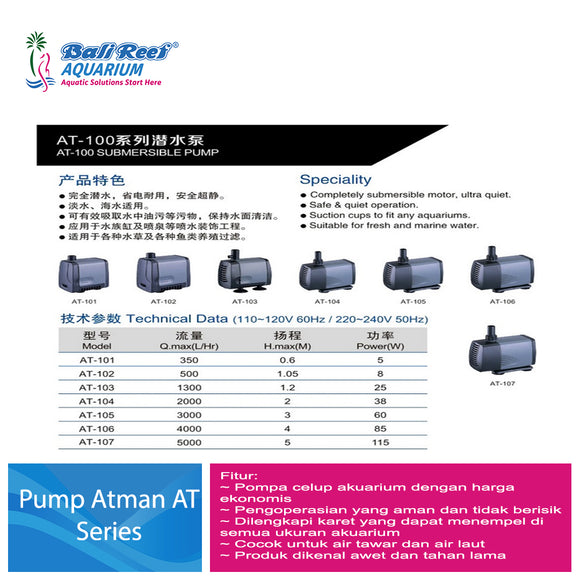 Pump Atman AT- Series