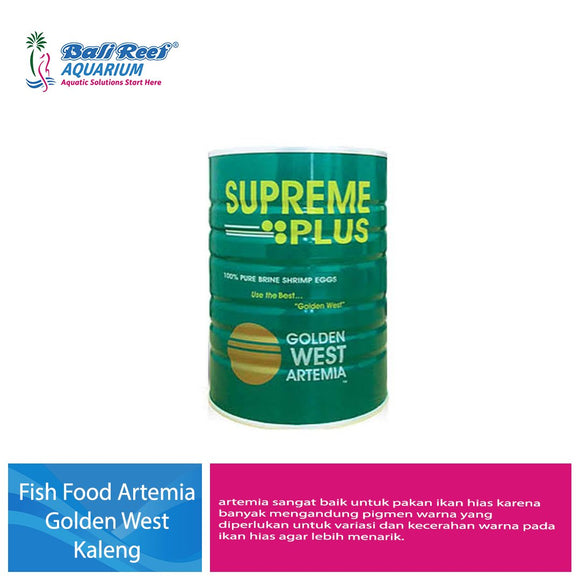 Fish Food Artemia Golden West