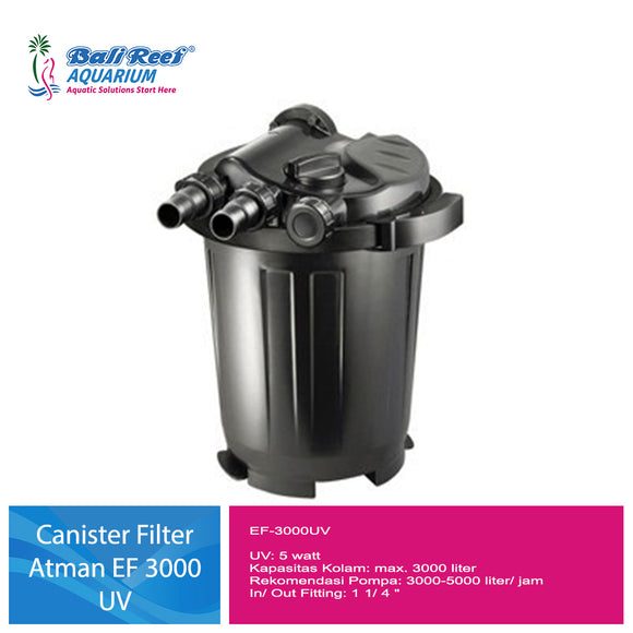 Canister Filter Atman Pond EF