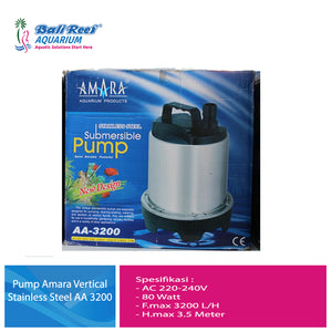Pump Amara Vertical Stainless Steel