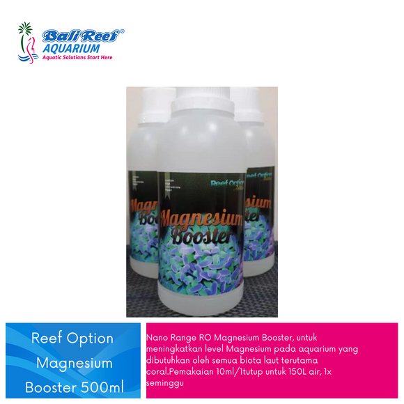 Reef Option Magnesium Booster