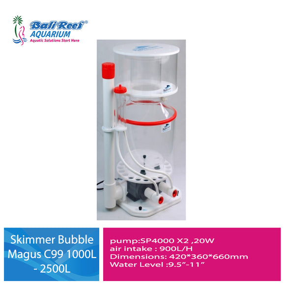 Skimmer Bubble Magus C series