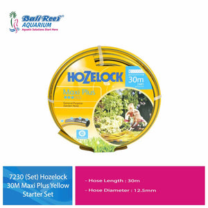 7230 (Set) Hozelock 30M Maxi Plus Yellow Starter Set