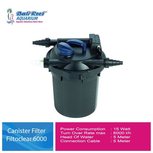 Canister Filter Filtoclear 6000