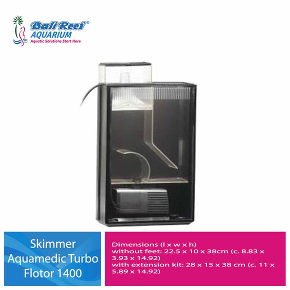 Skimmer Aquamedic Turbo Flotor 1400