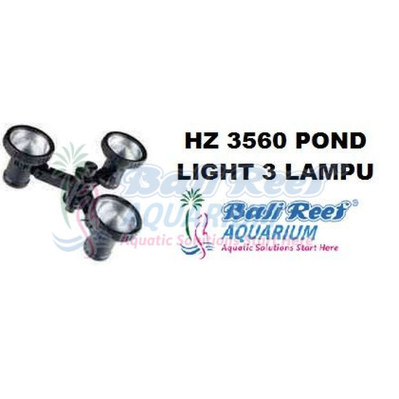 Hz 3560 Pond Light 3 Lampu 07092017 Bali Reef Aquarium Online Store