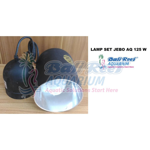 Lamp Set Jebo Aq 125 W 18092017 Bali Reef Aquarium Online Store