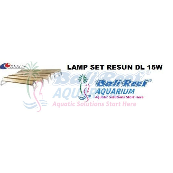 Lamp Set Resun 18092017 Bali Reef Aquarium Online Store