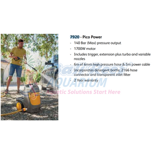 Pico Power Hozelock Hz 7920 Small Mighty Pressure Washer Hozelock Garden Bali Reef Aquarium Online Store