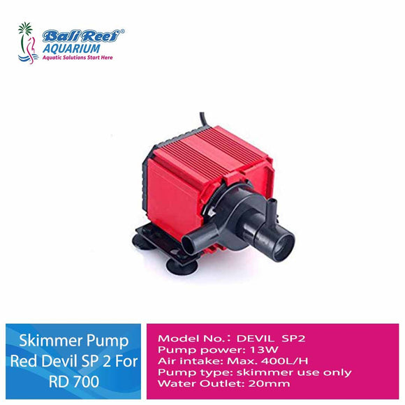 Skimmer Pump Red Devil