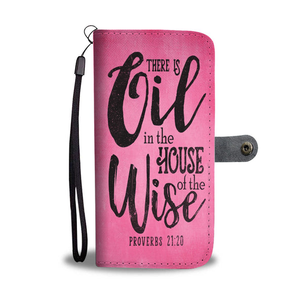 AWESOME PROVERBS WALLET CASE -  FITS 60+ PHONES
