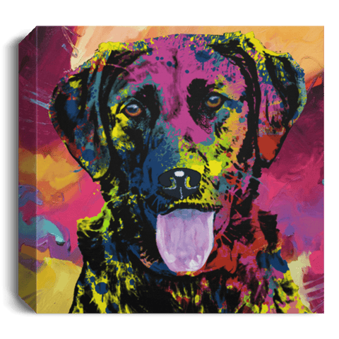 GORGEOUS LABRADOR Deluxe Square Canvas 1.5in Frame - 5 SIZES, SMALL TO LARGE