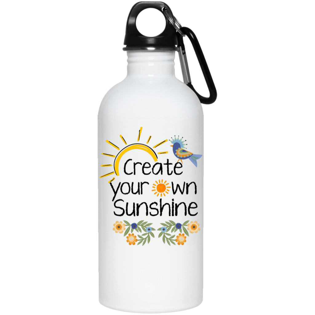 SUNSHINE 20 oz. QUALITY Stainless Steel Water Bottle