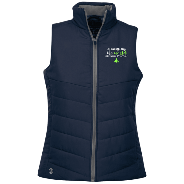 EMBROIDERED ONE DROP Holloway Ladies' Quilted Vest