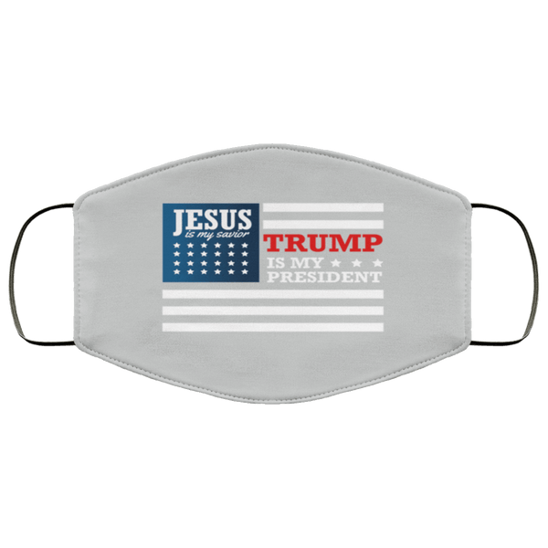 TRUMP PRESIDENT JESUS Face Mask