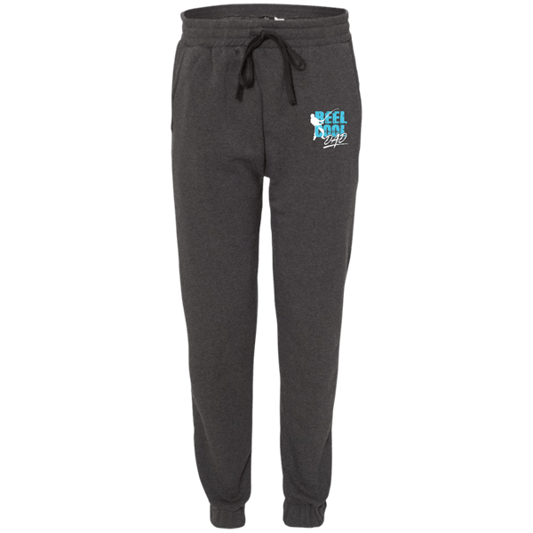EMBROIDERED Reel Cool Dad Adult Fleece Joggers