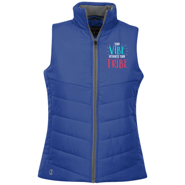 EMBROIDERED VIBE Holloway Ladies' Quilted Vest